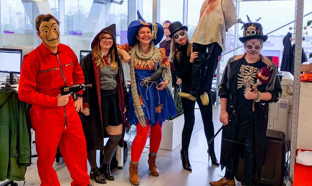 Bewire Halloween Party
